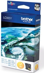 Brother inktcartridge geel, 260 pagina's - OEM: LC-985Y