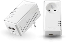 Sitecom homeplug Wi-Fi starter kit, 2 homeplugs
