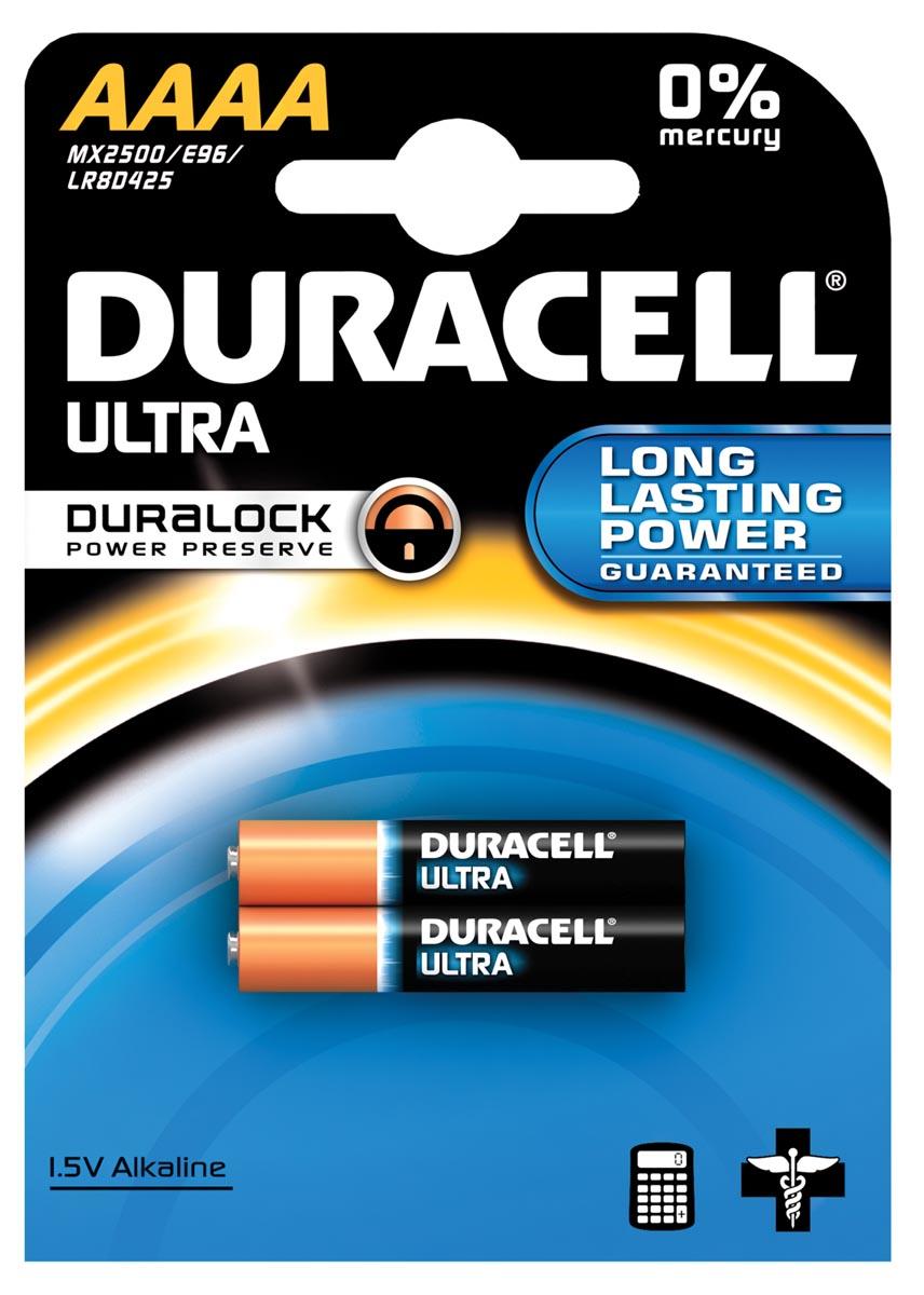 Duracell Ultra Mx 2500 Batterij Type-AAAA 2stuks