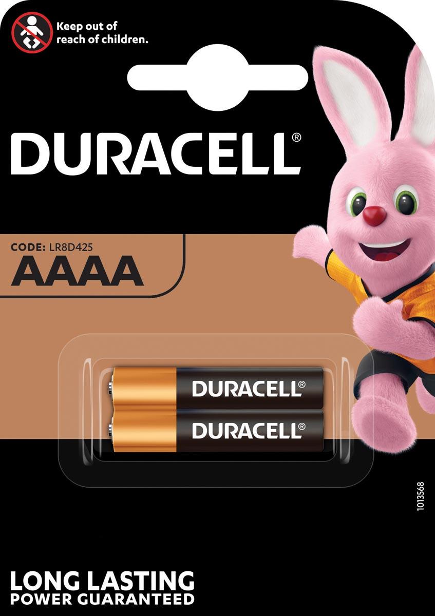 Duracell batterijen Ultra Power AAAA, blister van 2 stuks