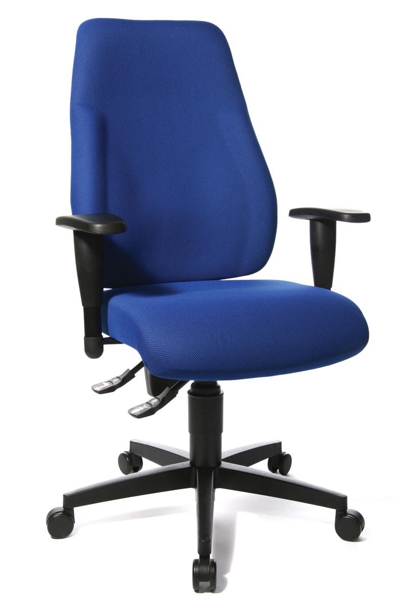 Topstar bureaustoel Lady Sitness, blauw