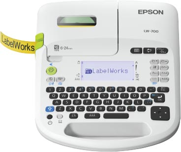 Epson beletteringsysteem LabelWorks LW-700, qwerty