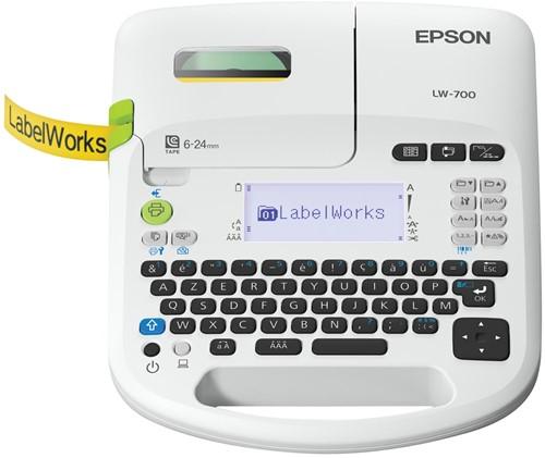 Epson beletteringsysteem LabelWorks LW-700, azerty