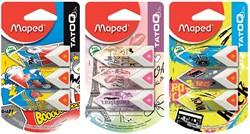 Maped gum Tatoo Pyramide, blister met 3 stuks