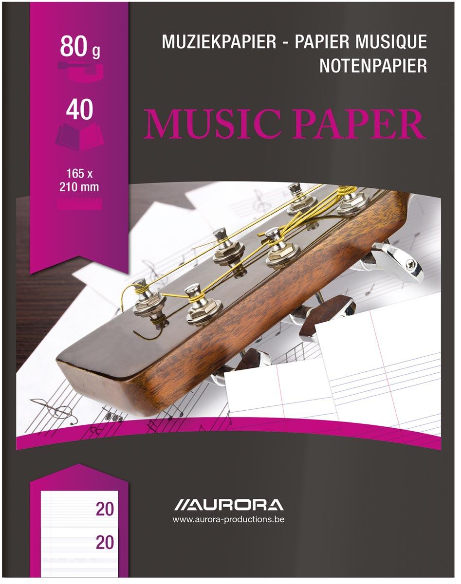 Bur-O-Class muziekschrift