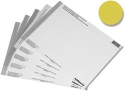 Elba etiketten voor hangmappen voor kasten nr. 8, geel