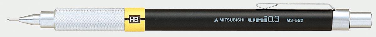 Uni-Ball Vulpotlood Premium Grijs