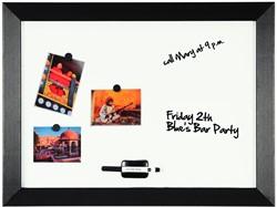 Bisilque Kamashi magnetisch whiteboard met zwart kader