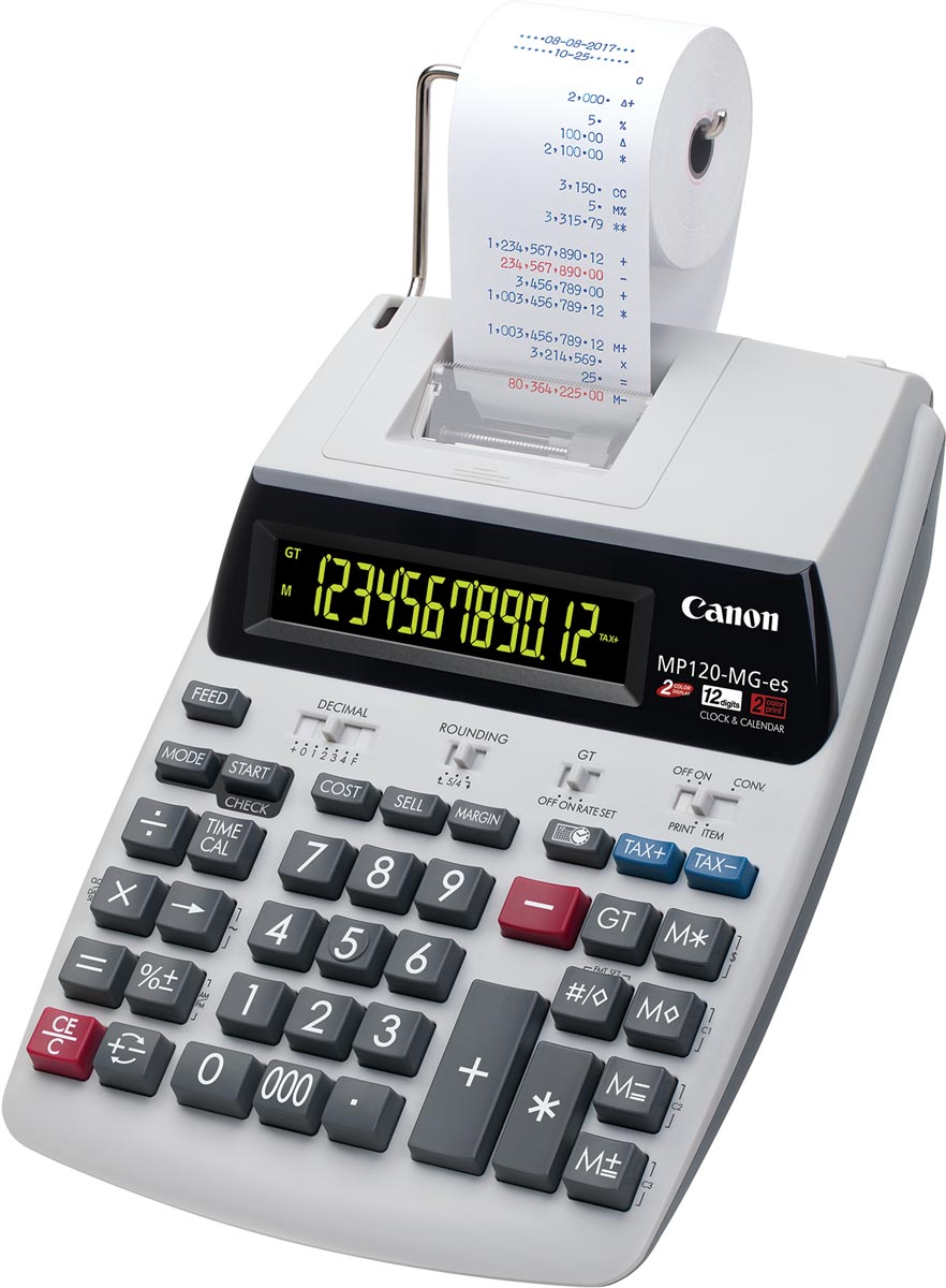 Canon bureaurekenmachine MP120-MG II