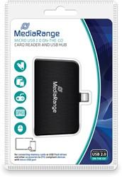 Micro USB 2.0 On-The-Go (OTG) Kaartlezer en USB hub