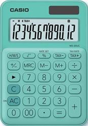 Casio bureaurekenmachine MS-20UC, groen