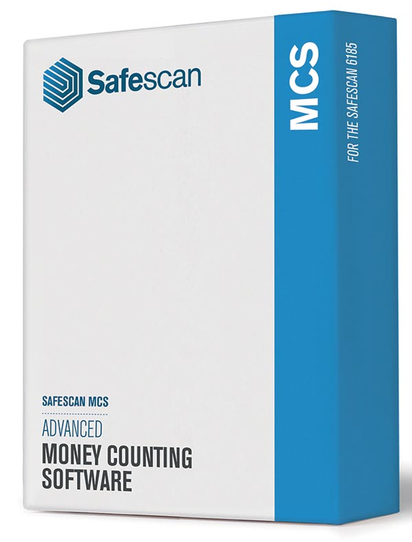 Safescan software MCS 131-0500, voor biljettelmachines