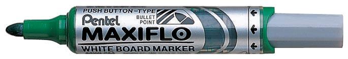 Pentel whiteboardmarker Maxiflo groen