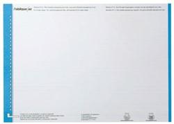 Elba etiketten voor hangmappen voor laden blauw