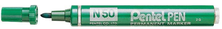 Pentel merkstift Pen N50 groen