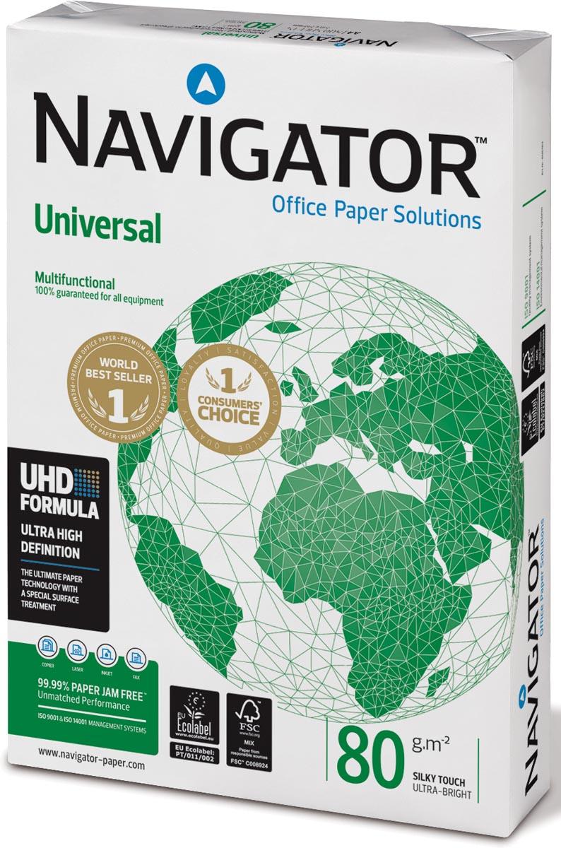 Kopieerpapier Navigator A4 80gr wit 500vel