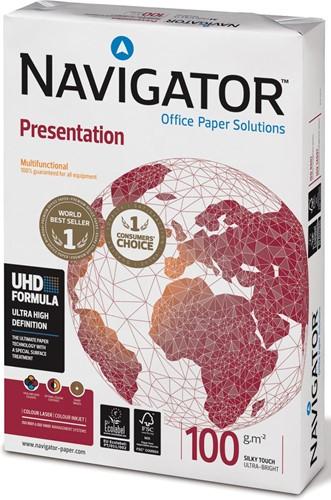 Navigator Presentation presentatiepapier ft A3, 100 g, pak van 500 vel