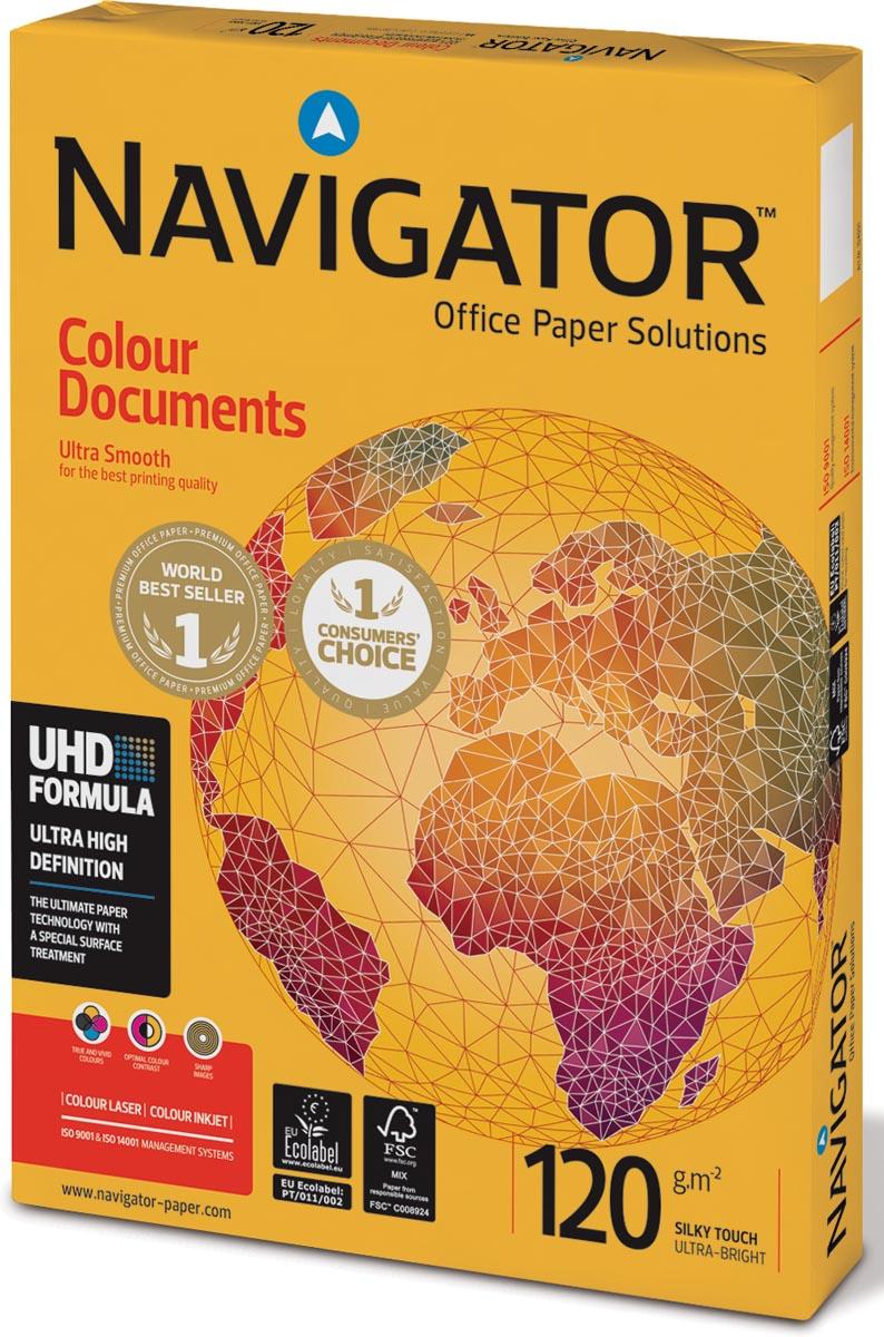 Navigator Colour Documents presentatiepapier ft A3, 120 g, pak van 500 vel