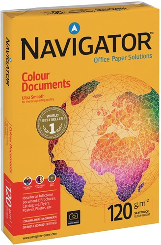 Navigator Colour Documents presentatiepapier ft A4, 120 g, pak van 250 vel-2
