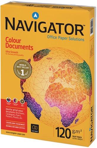 Navigator Colour Documents presentatiepapier ft A4, 120 g, pak van 250 vel
