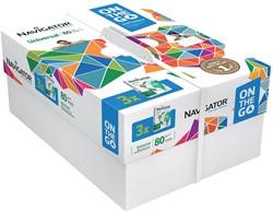 Navigator On The Go printpapier ft A4, 80 g, pak van 500 vel