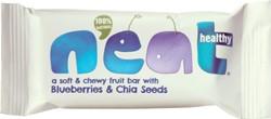 Neat Blueberries & Chia, reep van 45 g, pak van 16 stuks