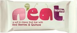 Neat Red Berries & Quinoa, reep van 45 g, pak van 16 stuks