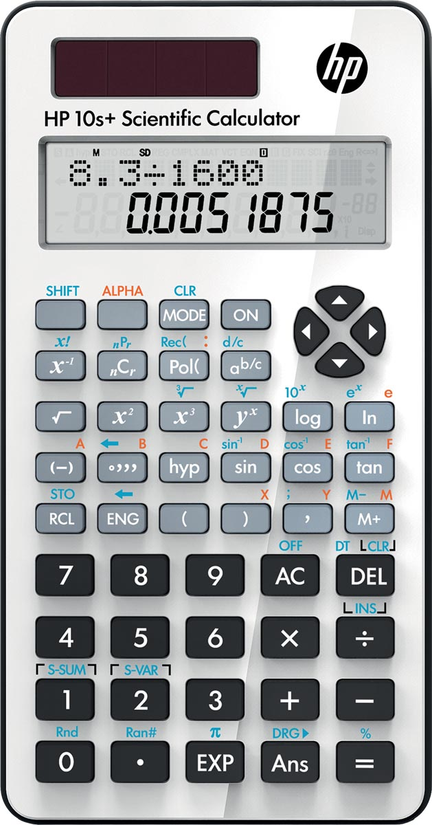 HP wetenschappelijke rekenmachine 10S+