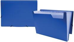 Beautone voorordner, ft A4,12 vakken, blauw