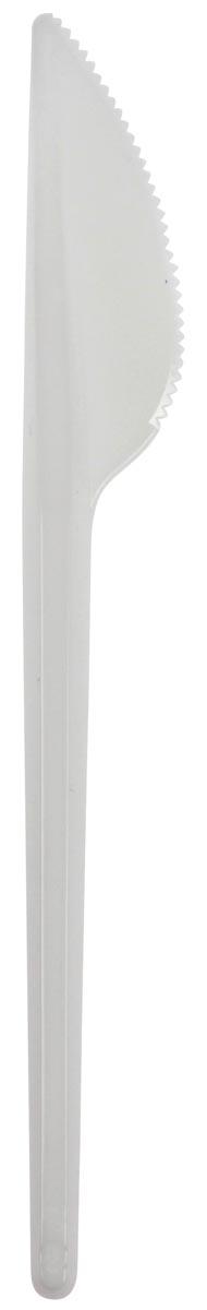 Mes uit polystyreen, wit, 16,4 cm, pak van 100 stuks