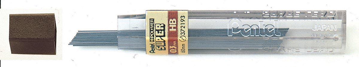 Pentel potloodstiften 0,3 mm, HB