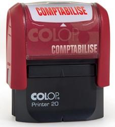 Colop formulestempel Printer tekst: COMPTABILISÉ