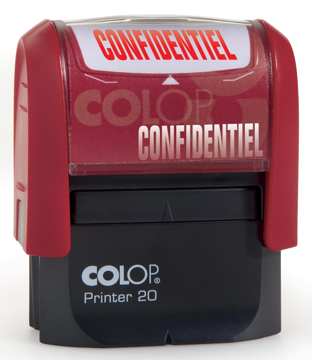 Colop formulestempel Printer tekst: CONFIDENTIEL