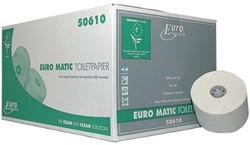 Europroducts toiletpapier met dop,  2-laags, 100 meter, eco, pak van 36 rollen