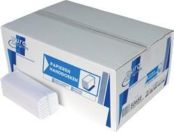 Europroducts papieren handdoeken, C-vouw, 2-laags, 120 vellen