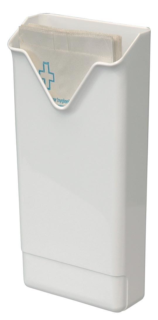 Europroducts dispenser voor hygiënezakjes, wit