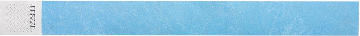 Orakel polsbandjes Tyvek, lichtblauw, pak van 100 stuks