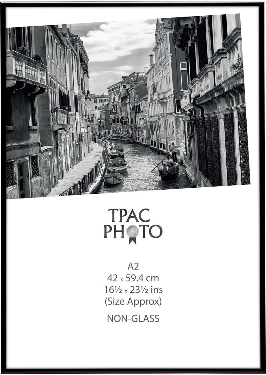 TPAC fotokader aluminium, zwart, ft A2