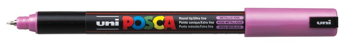 uni-ball Paint Marker op waterbasis Posca PC-1MR metaalroze