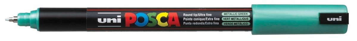 uni-ball Paint Marker op waterbasis Posca PC-1MR metaalgroen