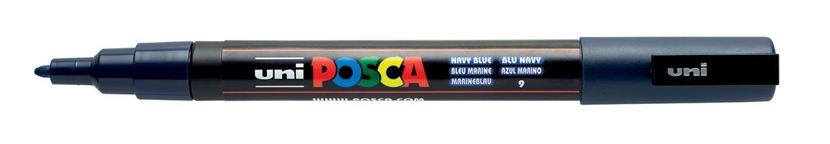Posca paintmarker PC-3M marine blauw