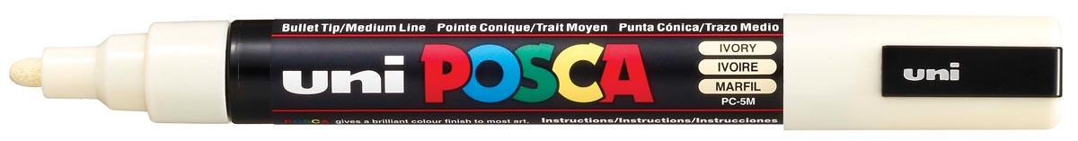 uni-ball Paint Marker op waterbasis Posca PC-5M ivoor