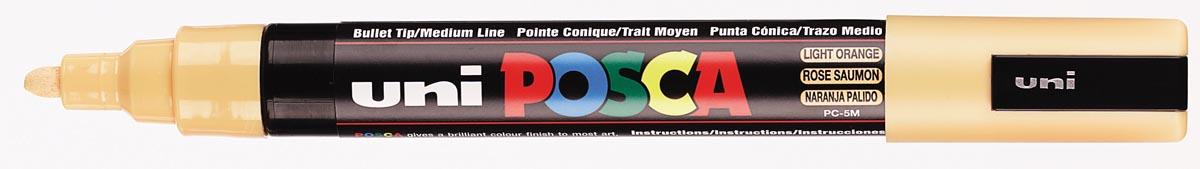 uni-ball Paint Marker op waterbasis Posca PC-5M zalmroze