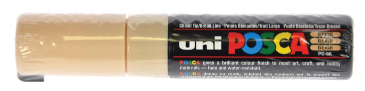 uni-ball Paint Marker op waterbasis Posca PC-8K beige