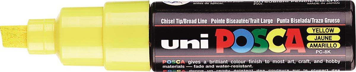 uni-ball Paint Marker op waterbasis Posca PC-8K geel