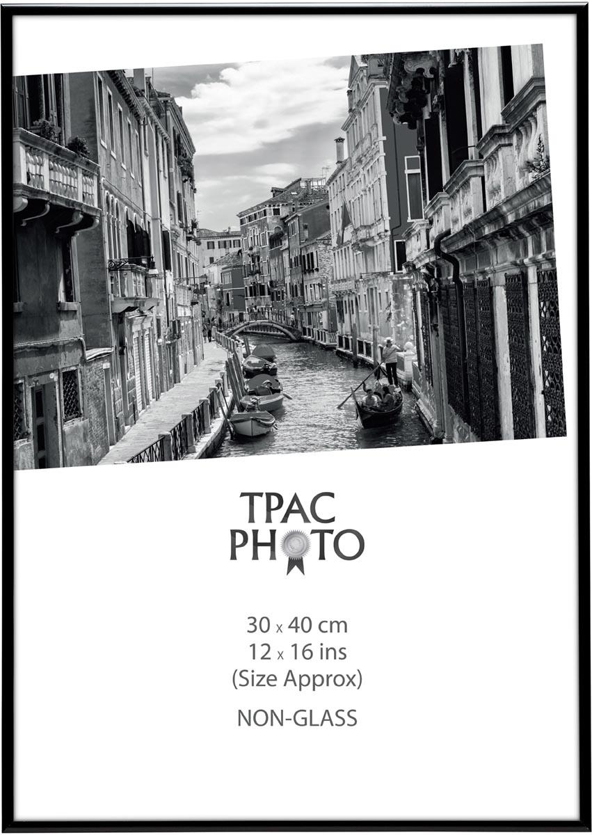 TPAC fotokader aluminium, zwart, 30 x 40 cm