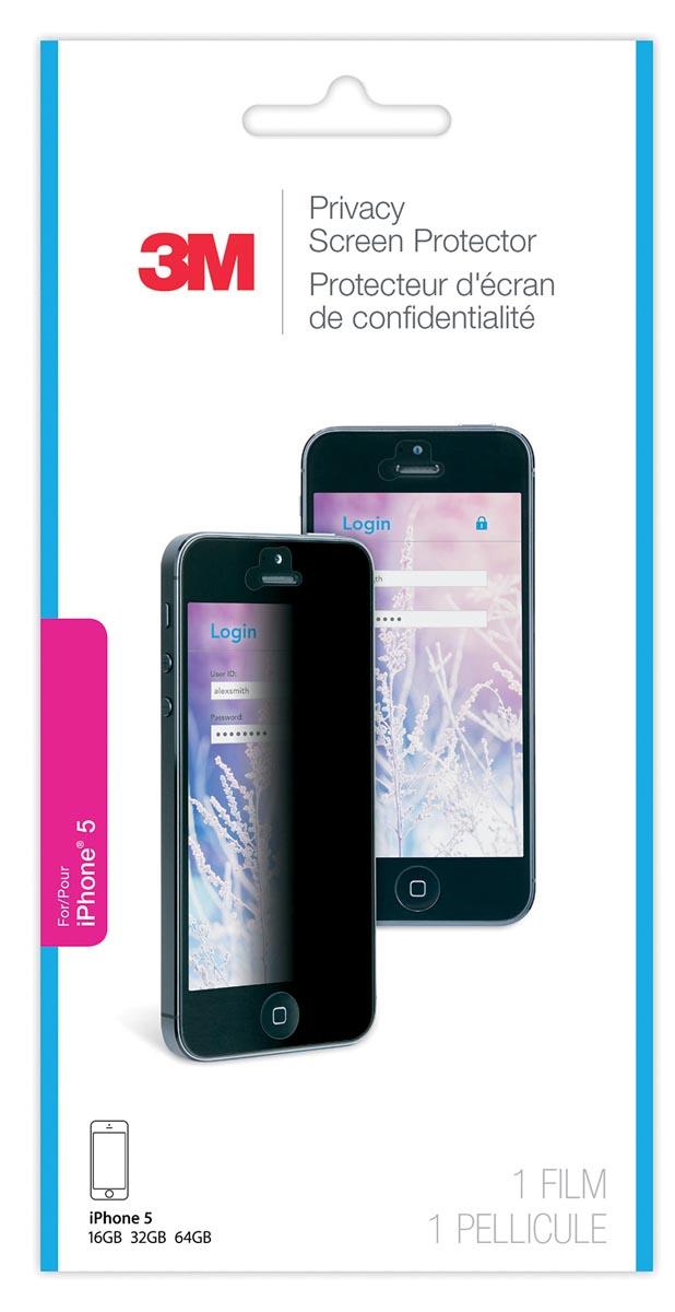 3M privacy filter voor Apple iPhone 5, 5s en 5c
