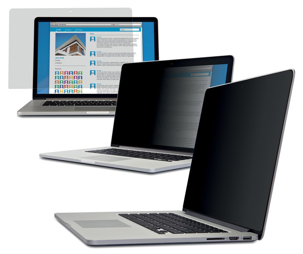 3M privacy filter voor Apple MacBook Pro met retinadisplay, 13 inch