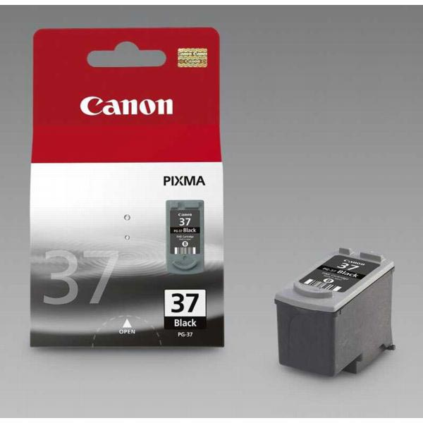 Canon inktcartridge PG-37, 219 pagina's, OEM 2145B001, zwart
