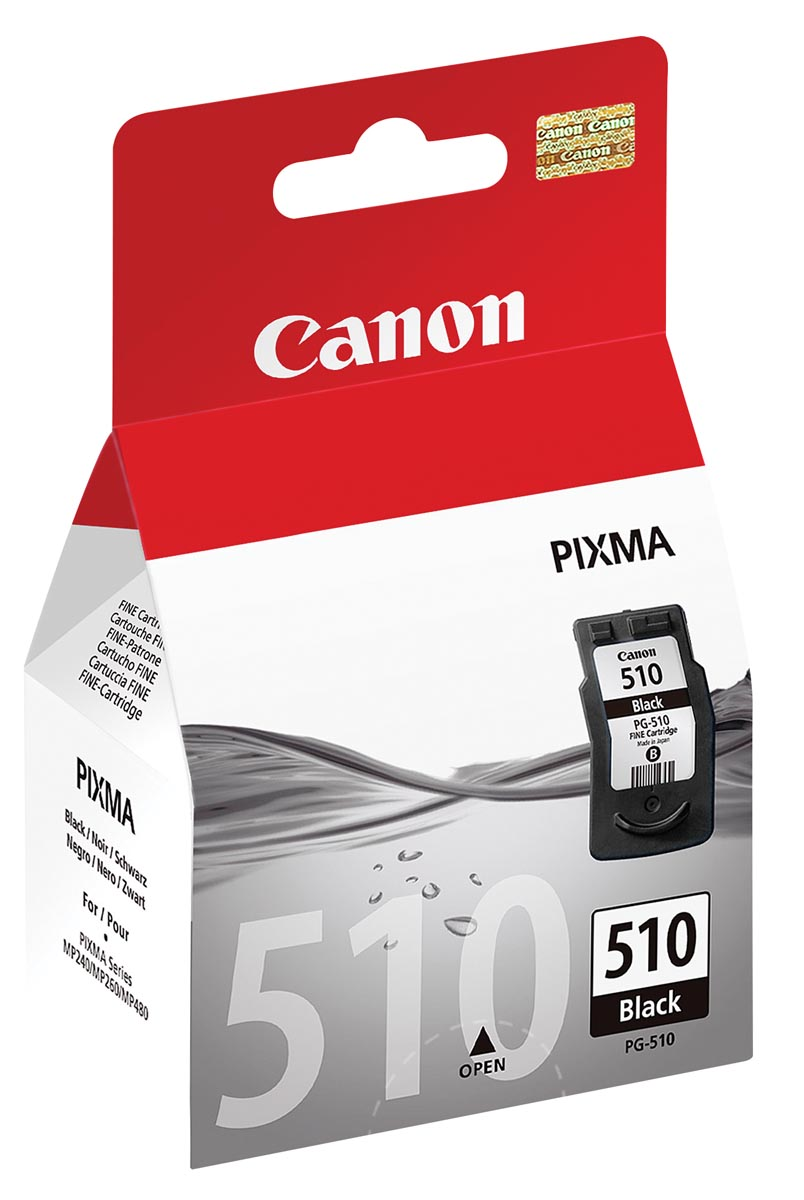 Canon inktcartridge PG-510, 220 pagina's, OEM 2970B001, zwart